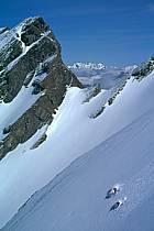 Ski-freeride, Raid à ski, Traversée des Aravis, Haute-Savoie, ref da1158-35GE