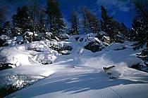 Ski-freeride, Chamonix / Le Tour, Haute-Savoie, Alpes, ref da1264-32GE