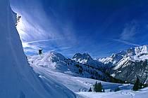 Ski-freeride, Chamonix / Le Tour, Haute-Savoie, Alpes, ref da1265-11GE