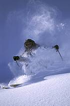 Ski-freeride, Jackson Hole, Wyoming, ref da2009-21GE