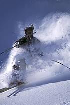 Ski-freeride, Jackson Hole, Wyoming, ref da2009-22GE