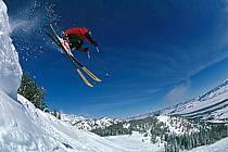 Ski-freeride, Jackson Hole, Wyoming, ref da2011-10GE