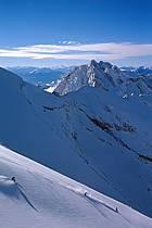 Ski-freeride, Sous l'Aiguille, La Clusaz, Haute-Savoie, ref da2118-08GE