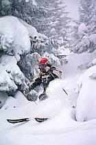 Ski-freeride, La Clusaz, Haute-Savoie, ref da2122-07GE