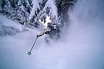 Ski-freeride, La Clusaz, Haute-Savoie, ref da2122-17GE