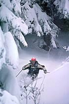 Ski-freeride, La Clusaz, Haute-Savoie, ref da2122-19GE