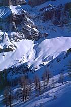 Ski-freeride, Les Diablerets, Alpes, ref da2135-02GE