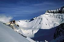 Ski-freeride, Lake Louise, Alberta, ref da2372-03GE
