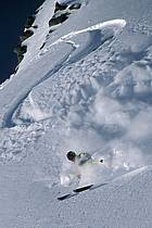 Ski-freeride, Lake Louise, Alberta, ref da2372-05GE
