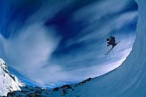 Ski-freeride, Lake Louise, Alberta, ref da2373-02GE
