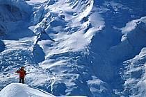 Ski-freeride, Chamonix / Le Brévent, Haute-Savoie, Alpes, ref da2682-07GE