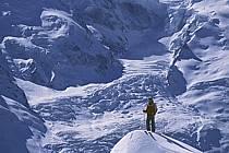 Ski-freeride, Chamonix / Le Brévent, Haute-Savoie, Alpes, ref da2682-16GE