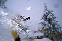 Ski-freeride, Grand Targhee, Wyoming, ref da2929-23GE
