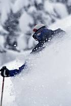 Ski-freeride, Grand Targhee, Wyoming, ref da2929-31GE