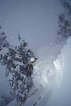 Ski-freeride, Grand Targhee, Wyoming, ref da2930-13GE