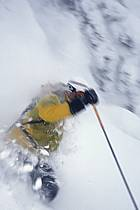 Ski-freeride, Grand Targhee, Wyoming, ref da2931-17GE