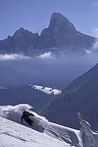 Ski-freeride, Grand Targhee, Wyoming, ref da2932-34GE
