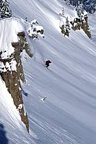 Ski-freeride, Grand Targhee, Wyoming, ref da2934-28GE