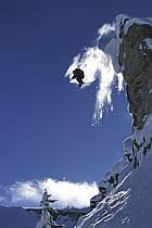 Ski-freeride, Grand Targhee, Wyoming, ref da2935-26GE