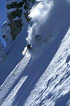 Ski-freeride, Grand Targhee, Wyoming, ref da2936-20GE
