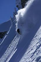 Ski-freeride, Grand Targhee, Wyoming, ref da2936-21GE