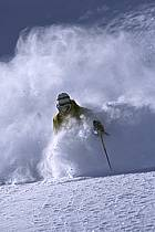 Ski-freeride, Grand Targhee, Wyoming, ref da2937-03GE