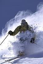 Ski-freeride, Grand Targhee, Wyoming, ref da2937-04GE