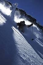 Ski-freeride, Grand Targhee, Wyoming, ref da2939-09GE
