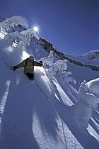 Ski-freeride, Grand Targhee, Wyoming, ref da2939-12GE