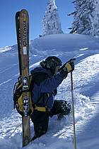 Ski-freeride, Grand Targhee, Wyoming, ref dc2935-21GE