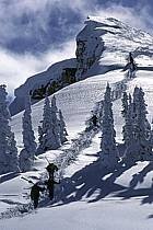 Ski-freeride, Grand Targhee, Wyoming, ref dc2937-06GE