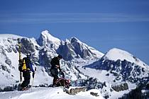 Ski-freeride, Jackson Hole, Wyoming, ref dc2942-34GE