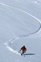 Ski freeride, Fernie, Colombie Britannique, ref dk2607-01GE