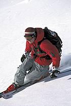 Ski freeride, Fernie, Colombie Britannique, ref dk2607-04GE