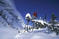 Fernie, Ski freeride, Colombie Britannique, ref dk2607-27GE