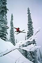 Fernie, Ski freeride, Ski freestyle, Colombie Britannique, ref dk2609-07GE
