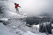 Fernie, Ski freeride, Ski freestyle, Colombie Britannique, ref dk2610-14GE