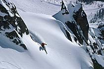 Ski freeride, Chamonix - Le Brévent, Haute-Savoie, Alpes, ref dk2681-19GE