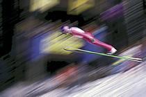 Saut à ski, Chamonix, Haute-Savoie, Alpes, ref dm0230-02GE