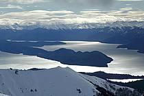Massif Andin, Lago Nahuel Huapi, San Carlos de Bariloche, Patagonie, ref ea054776GE