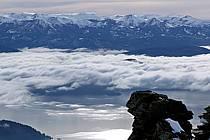 Massif Andin, Lago Nahuel Huapi, San Carlos de Bariloche, Patagonie, ref ea054780GE