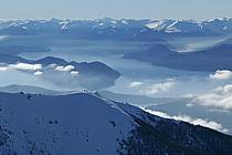 Massif Andin, Lago Nahuel Huapi, San Carlos de Bariloche, Patagonie, ref ea054804GE