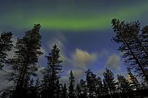 Norther-lights / Aurore boréale, Kakslauttanen, Laponie, ref ea062033GE