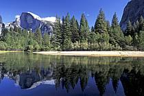 Yosemite National Park, Half Dome et Merced River, California, ref ea0671-11LE