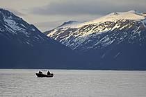 Pêcheurs dans les Alpes de Lyngen, ref eb054296GE