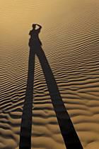 Désert du Sud Tunisien, au sud de Douz, Dunes de sable, ref eb063687GE