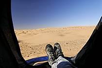 Désert du Sud Tunisien, au sud de Douz, Bivouac dans les dunes de sable, ref eb063715LE