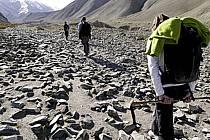 Trek en direction du col de Stok, Ladakh - Trek to Stok pass, Ladakh, ref eb081667LE