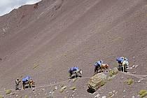 Trek en direction du col de Stok, Ladakh - Trek to Stok pass, Ladakh, ref eb081672GE