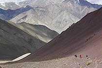 Trek en direction du col de Stok, Ladakh - Trek to Stok pass, Ladakh, ref eb081676GE